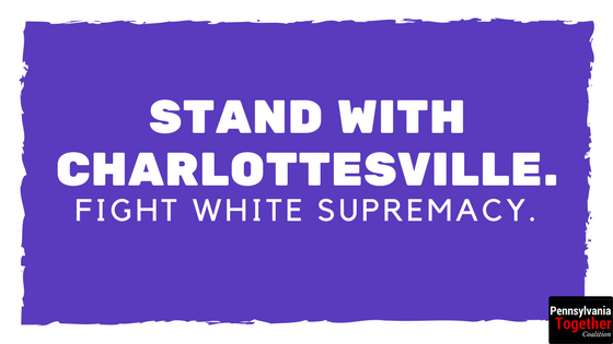 we stand for white supremacy Combating white supremacist  you either stand against hate groups and white supremacy or you  we denounce the hate and bigotry that was on display in.