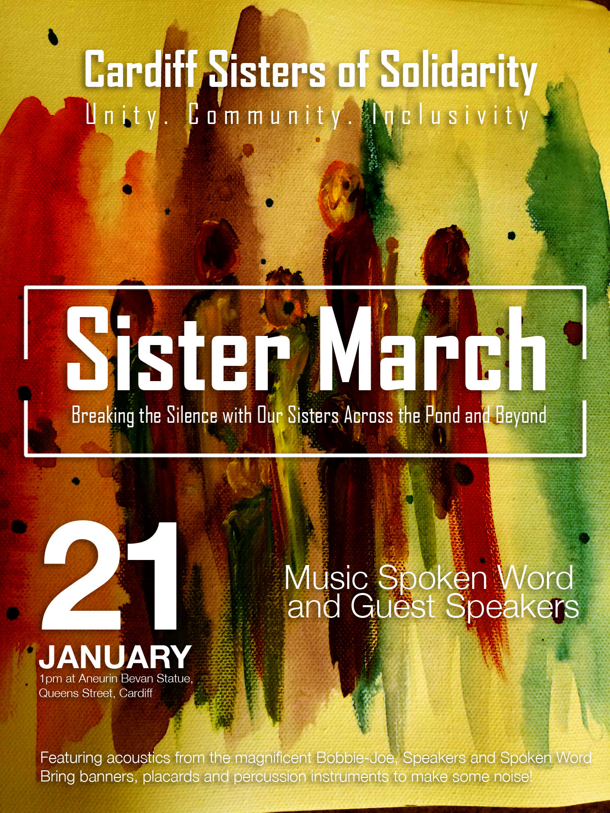 Sister_march_cardiff_poster_2
