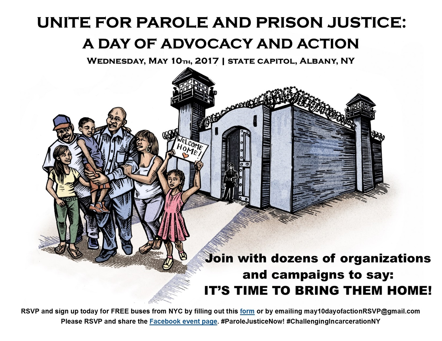 Unite for Parole and Prison Justice: A Day of Advocacy and Action