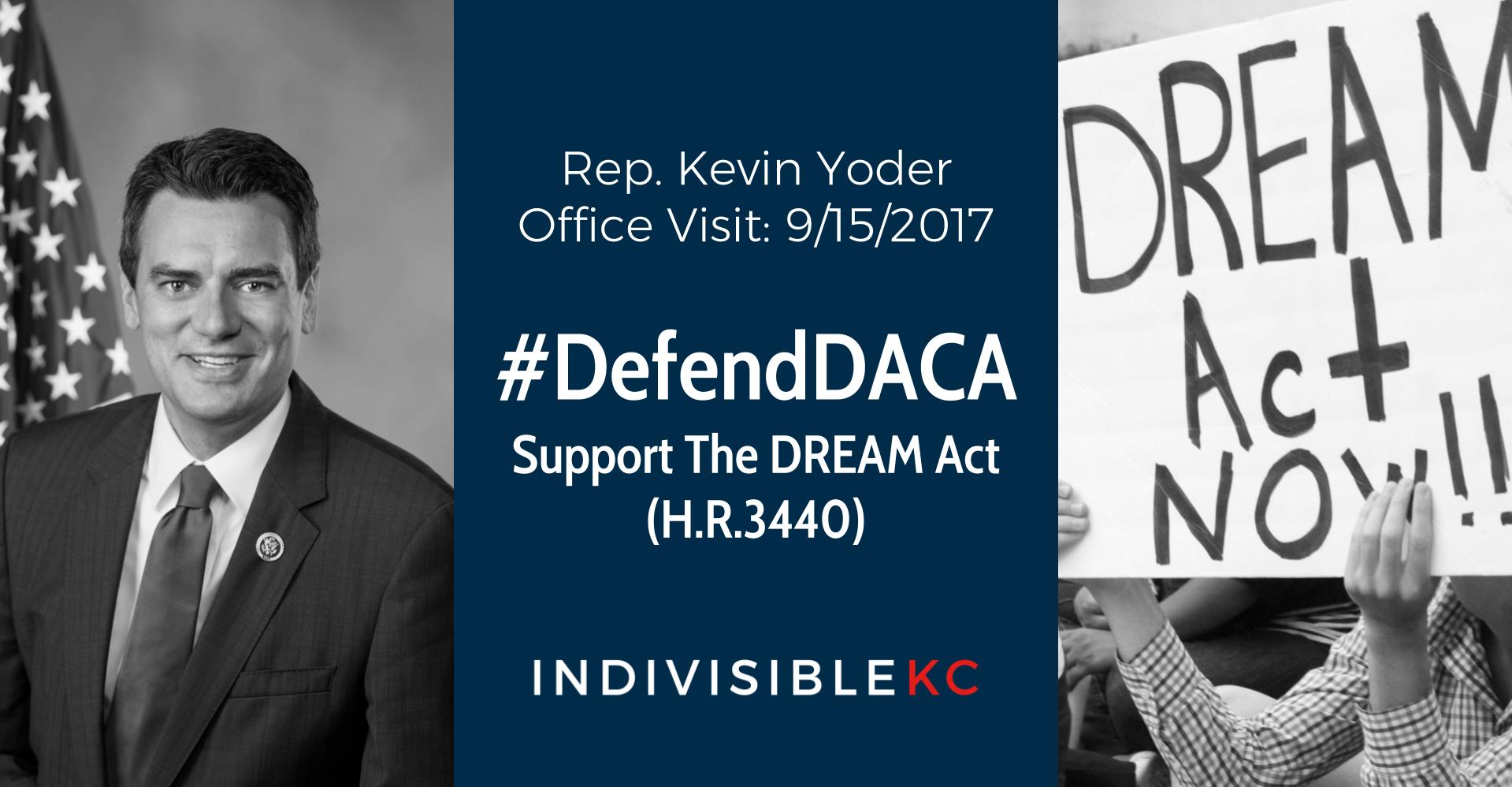 Yoder Visit Defend DACA