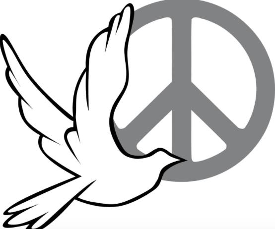 Dove.peace.sign.las.vegas