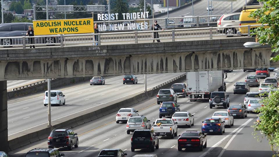 180611.ground.zero.bannering.against.nukes.over.i-5.in.seattle