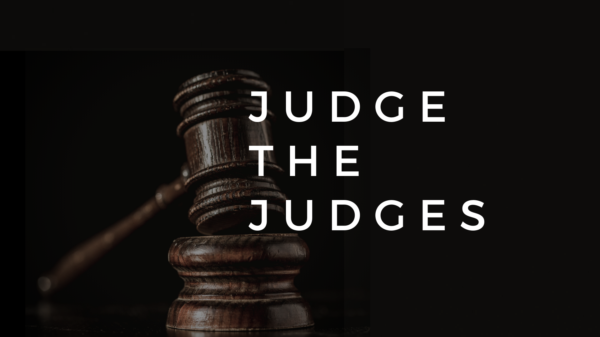 Judgethejudges
