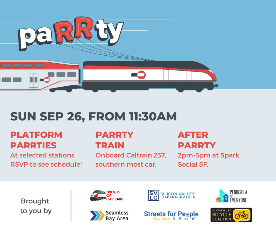 Measure RR Party - September 26th - Party Train, Platform Party, and Afterparty