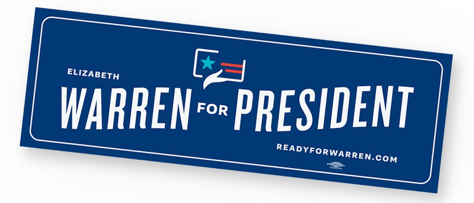 Warren_for_president_sticker_single