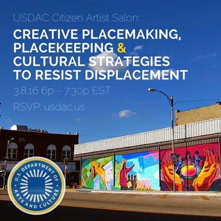 Creative Placekeeping Citizen Artist Salon
