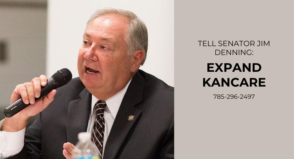 Tell Denning: Expand KanCare