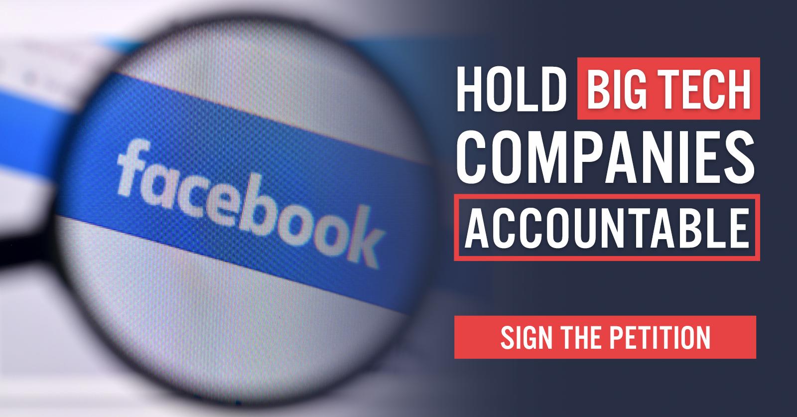 Hold Big Tech Accountable