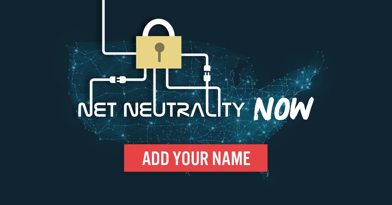 Net neutrality now!