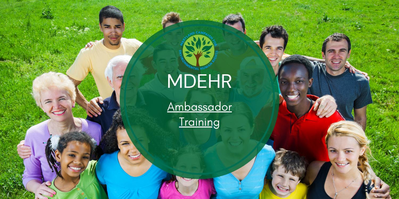 MDEHR Ambassador Training Program