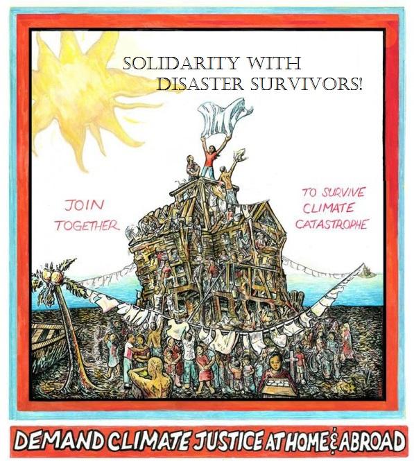 Solidaritywithdisastersurvivors