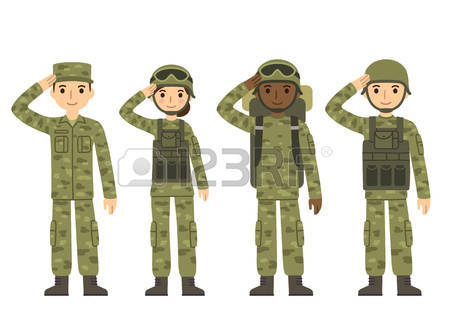 49155741-us-army-soldiers-men-and-woman-in-camouflage-combat-uniform-saluting-cute-flat-cartoon-style-isolate