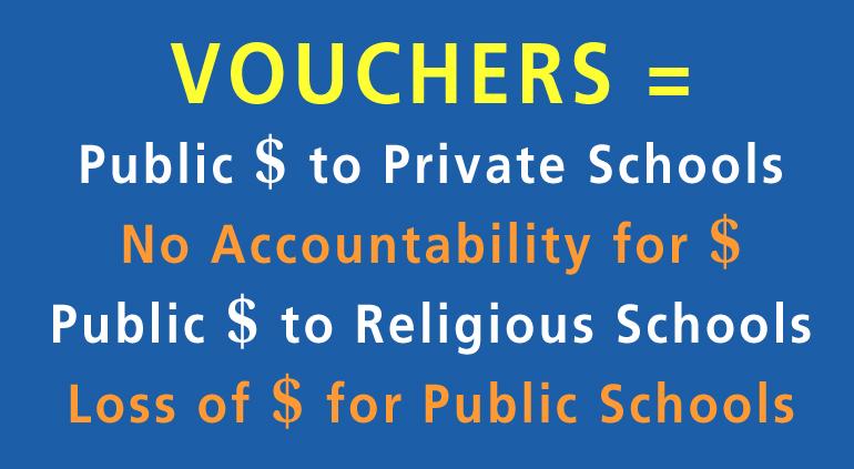 Dont Divert Taxpayer Money To Vouchers >> Halt Vouchers In The Texas House Budget