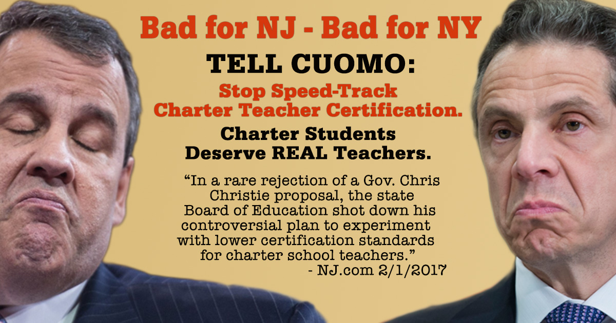Tell Gov Cuomo Forget Political Favors All Nys Kids Deserve
