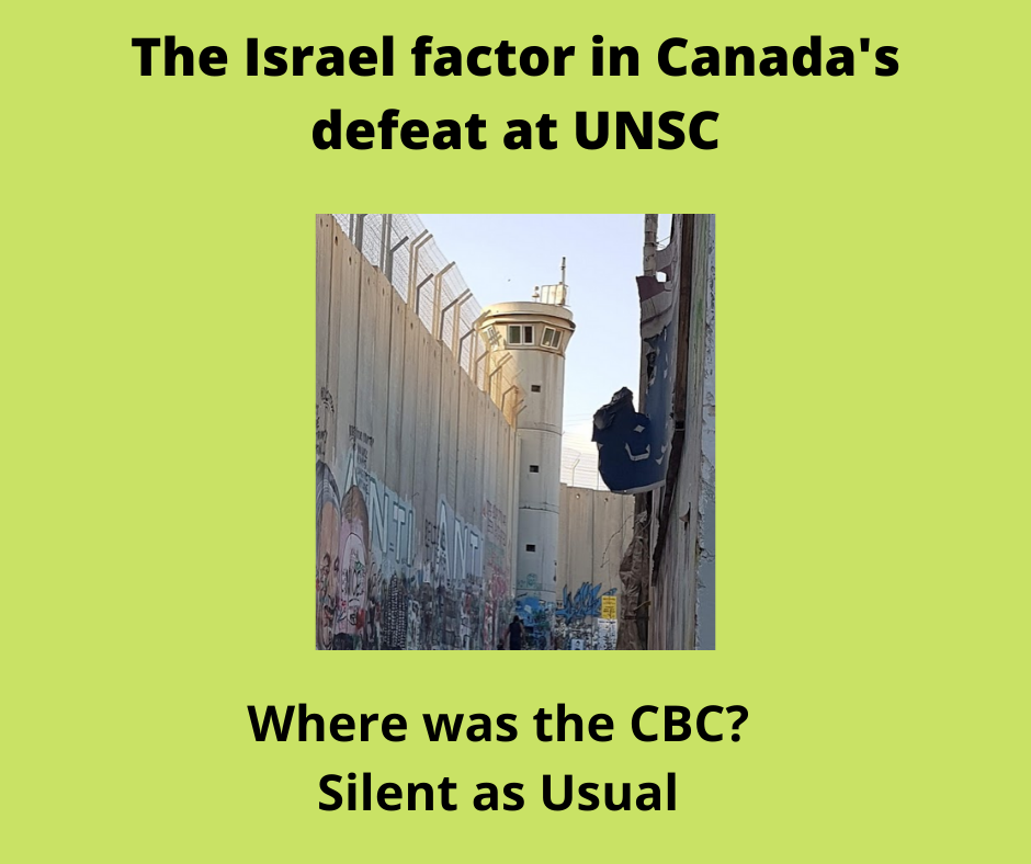 The_israel_factor_in_canada's_defeat_at_unsc