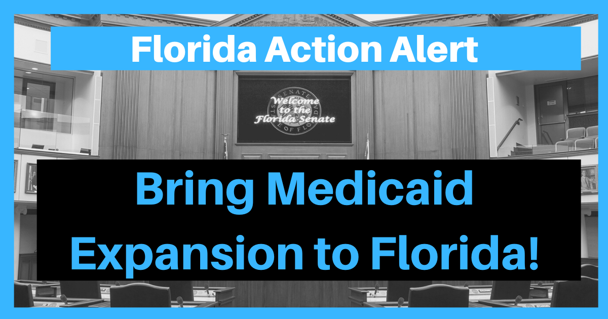 Florida Members of Congress: Support Medicaid Expansion in Florida!