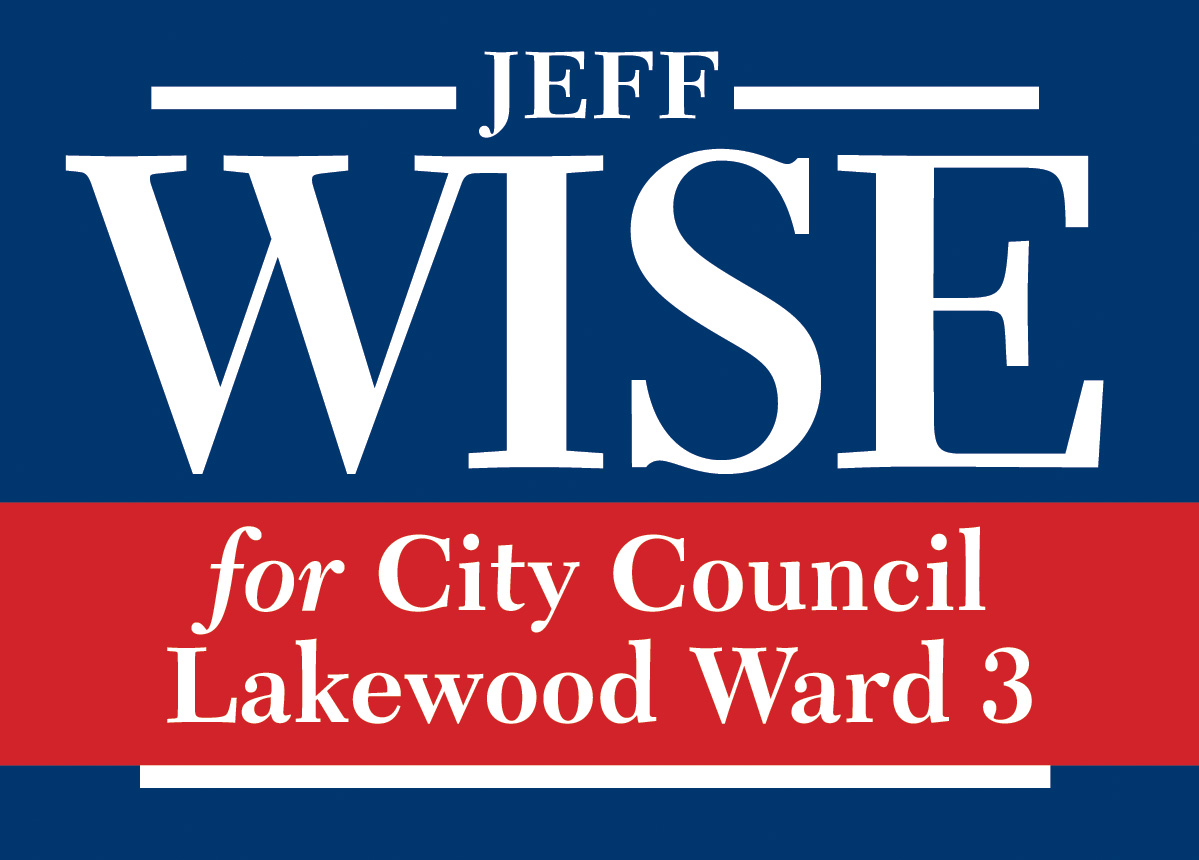Wise for Lakewood City Council Ward 3