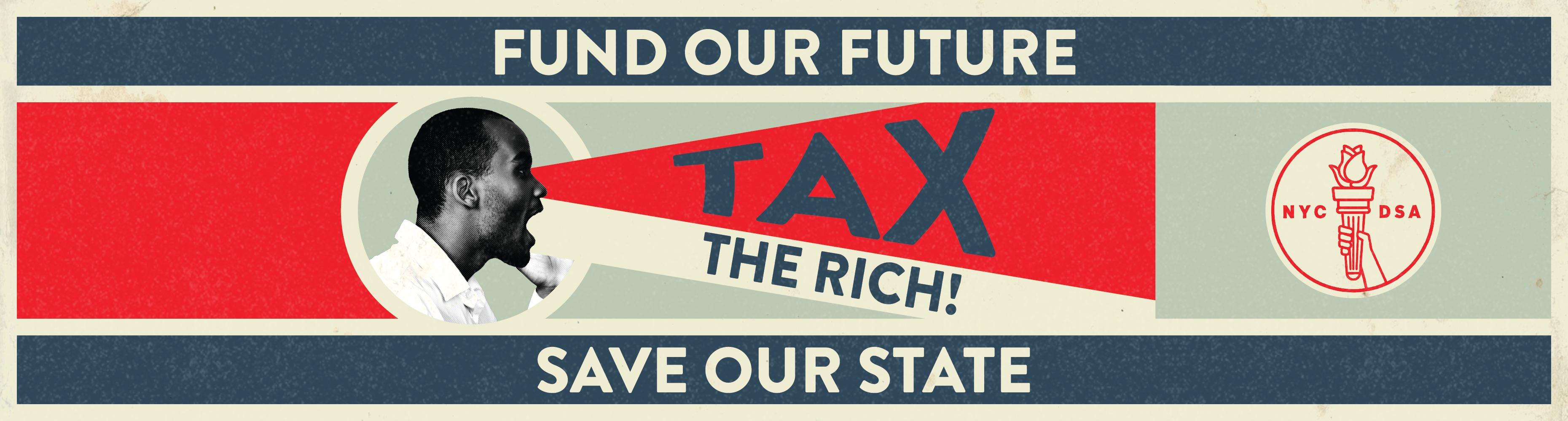 NYC-DSA Tax The Rich Campaign