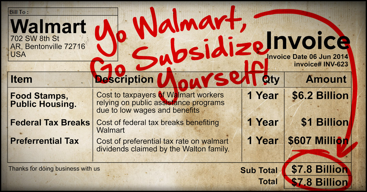 wal mart an exploitation of capitalism To serve god and wal-mart by  god and wal-mart: the making of christian free enterprise views  of wal-mart is no sin, but the exploitation of this.