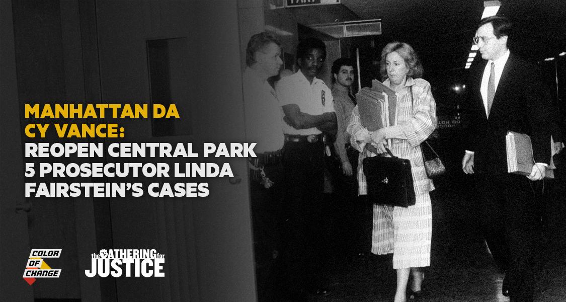 Reopen Linda Fairstein's Cases NOW