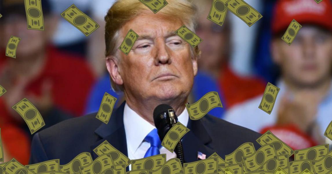GOP Senators: Don't take Trump's dirty money