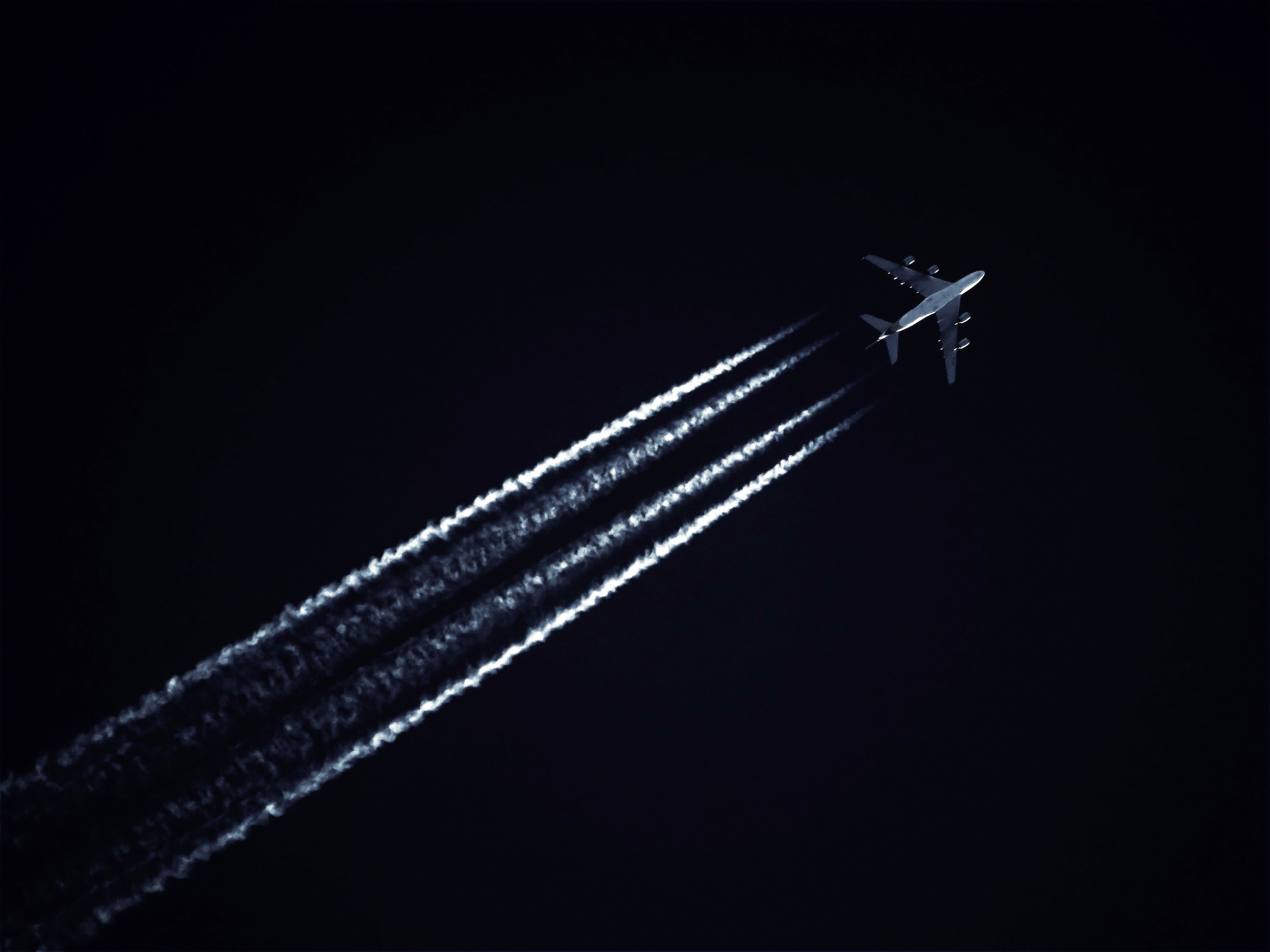 Photo-of-airplane-during-evening-2091321