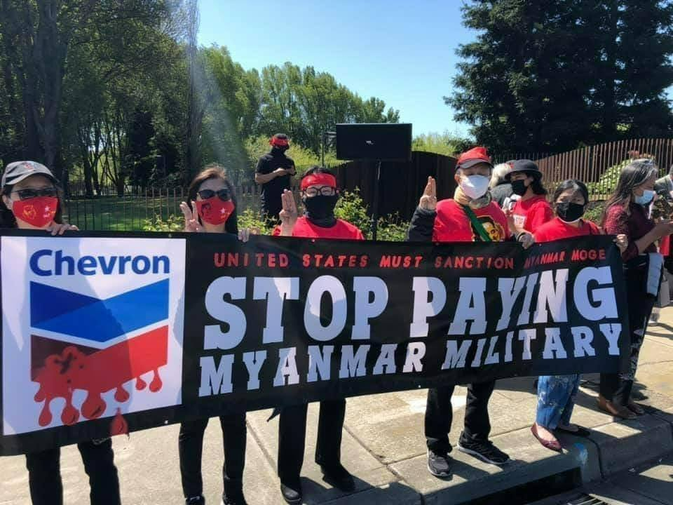 Chevron_myanmar_protesters