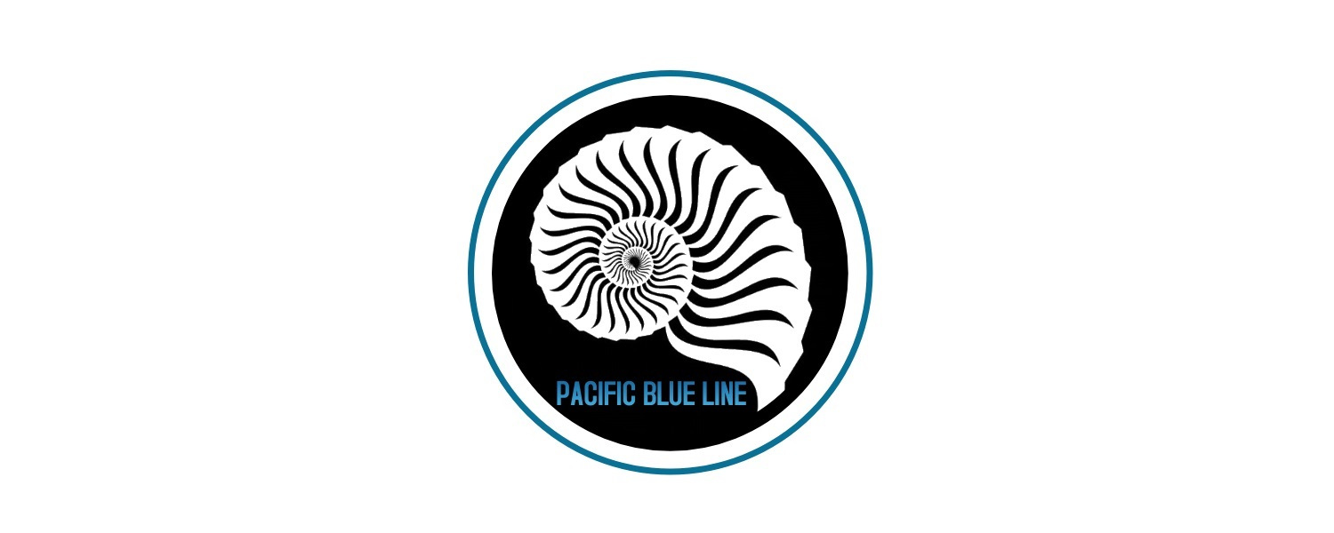 Pacific Blue Line banner