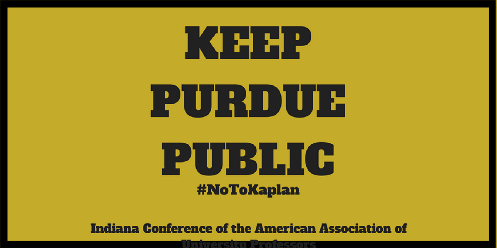 Keep Purdue Public: Tell the HLC to Vote NO on Purdue-Kaplan