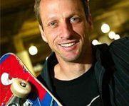 Tony Hawk signed skateboard