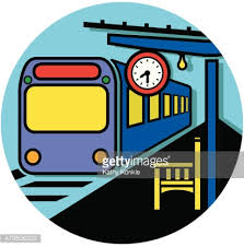 {Train clip art}