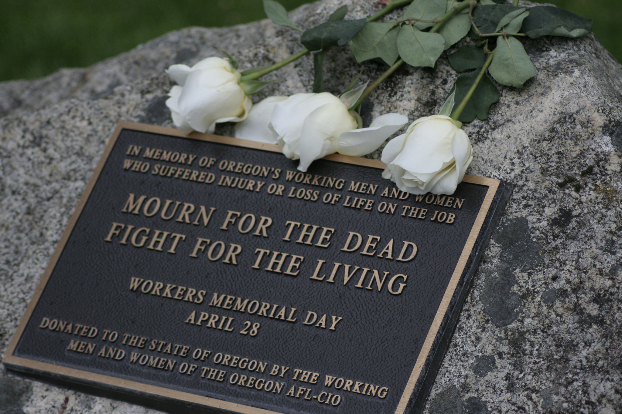 RSVP to Worker Memorial Day