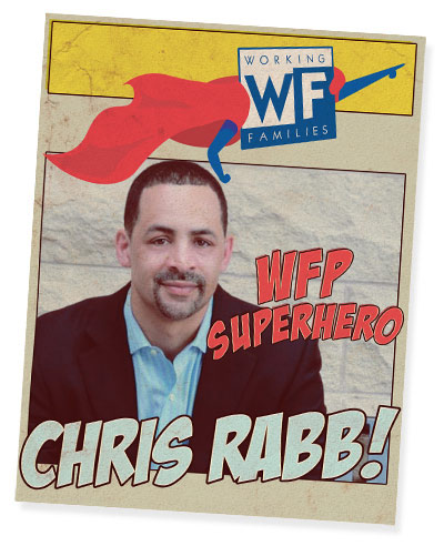 WFP Superhero: Chris Rabb