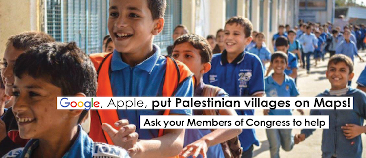 Google, Apple, put Palestinian villages on maps!