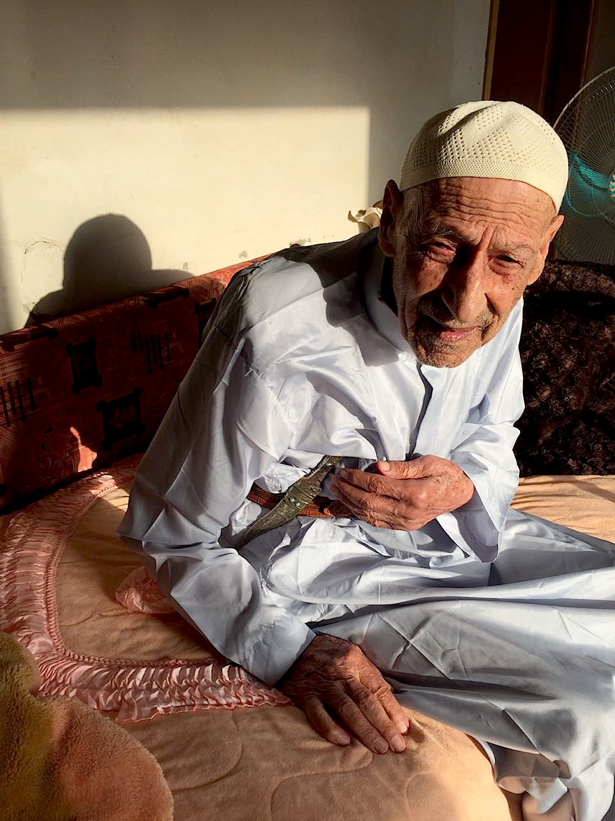 Musa Hussein Abu Al Qian was present in 1956 when Israeli minorities officer Haim Tzuri showed the Abu Al Qian tribe the lands Israel was promising them in return for the lands they had been evicted from