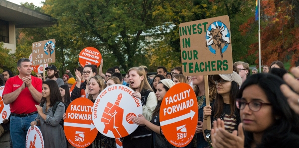 ACTION ALERT: Frustration Mounting, IC Contingent Faculty Authorize Strike / Community Support Needed Urgently