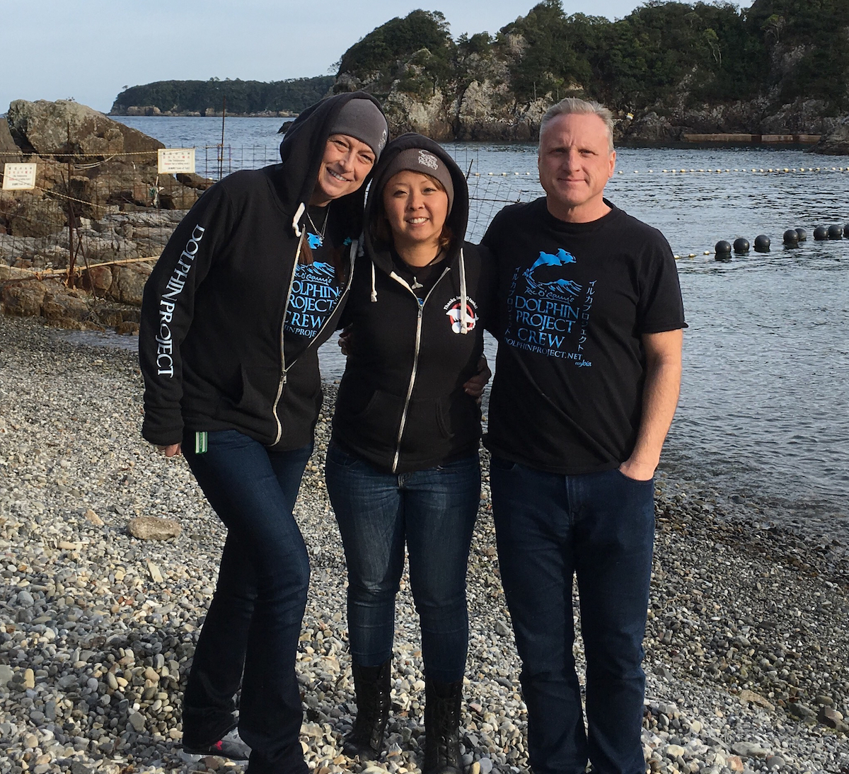 Dolphin Project Cove Monitors, Taiji, Japan