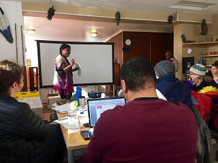 Thank you to the A.J. Williams-Meyers African Roots Library for hosting Saturday's Racial Justice Training!