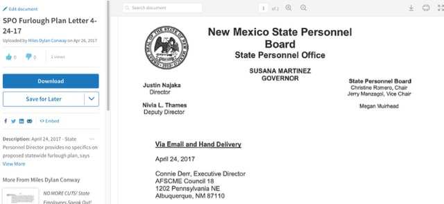 ARCHIVE   AFSCME New Mexico
