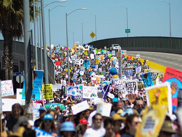 People's Climate March to Tesoro - April 29 - Reuters