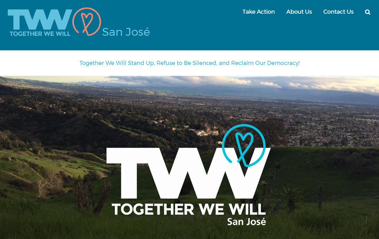 Together We Will - San Jose's new website!