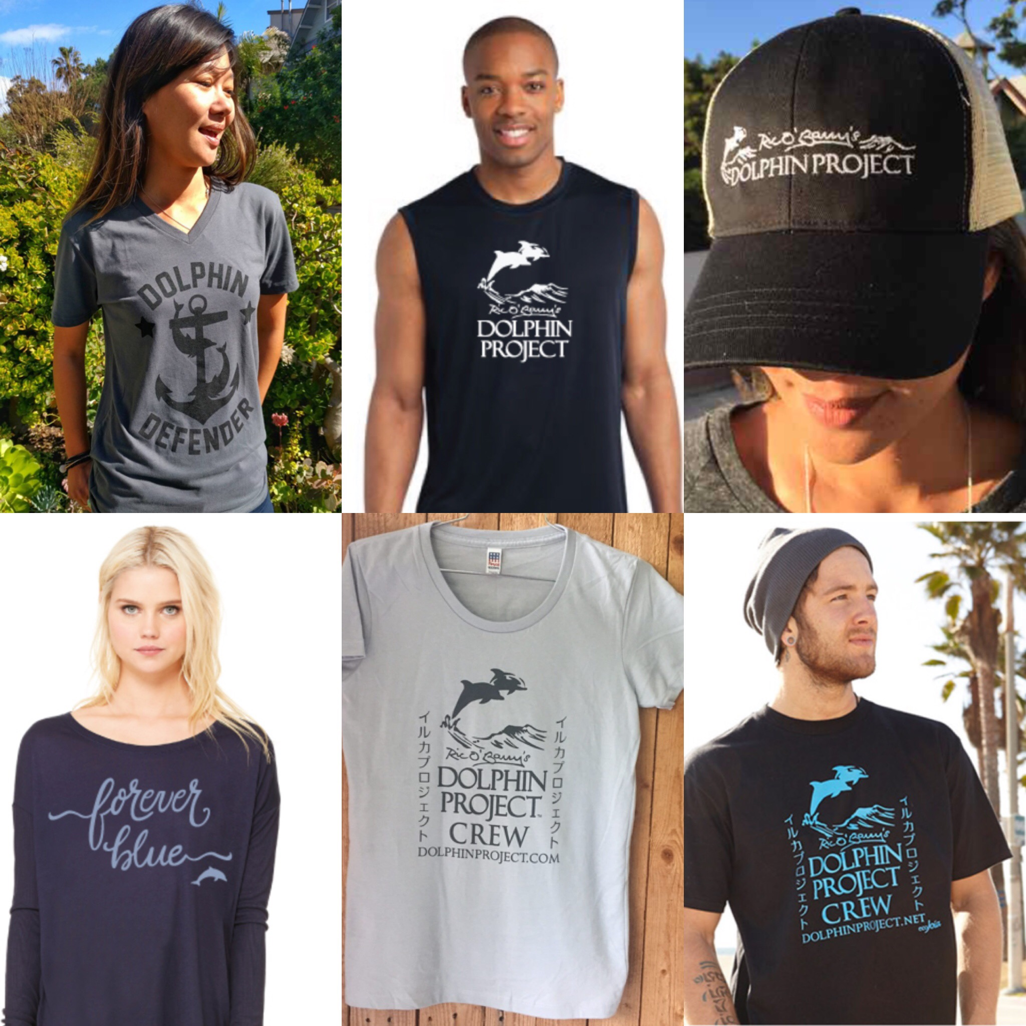 Wear your support for Dolphin Project and start a dialogue!