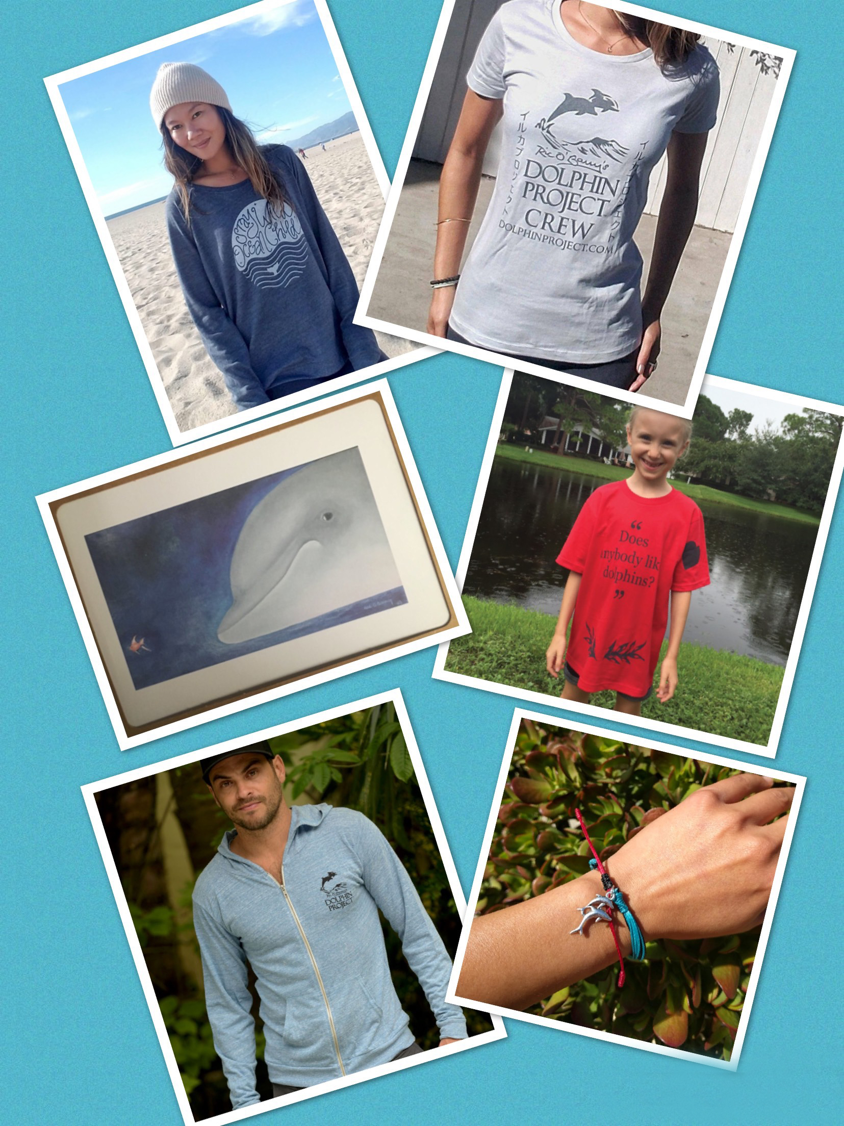 Shop Dolphin Project's authentic gear and be a voice for the voiceless!