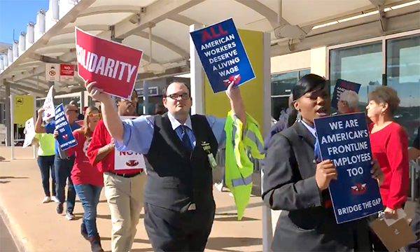 Envoy Passenger Service Agents Rally for a Fair Contract
