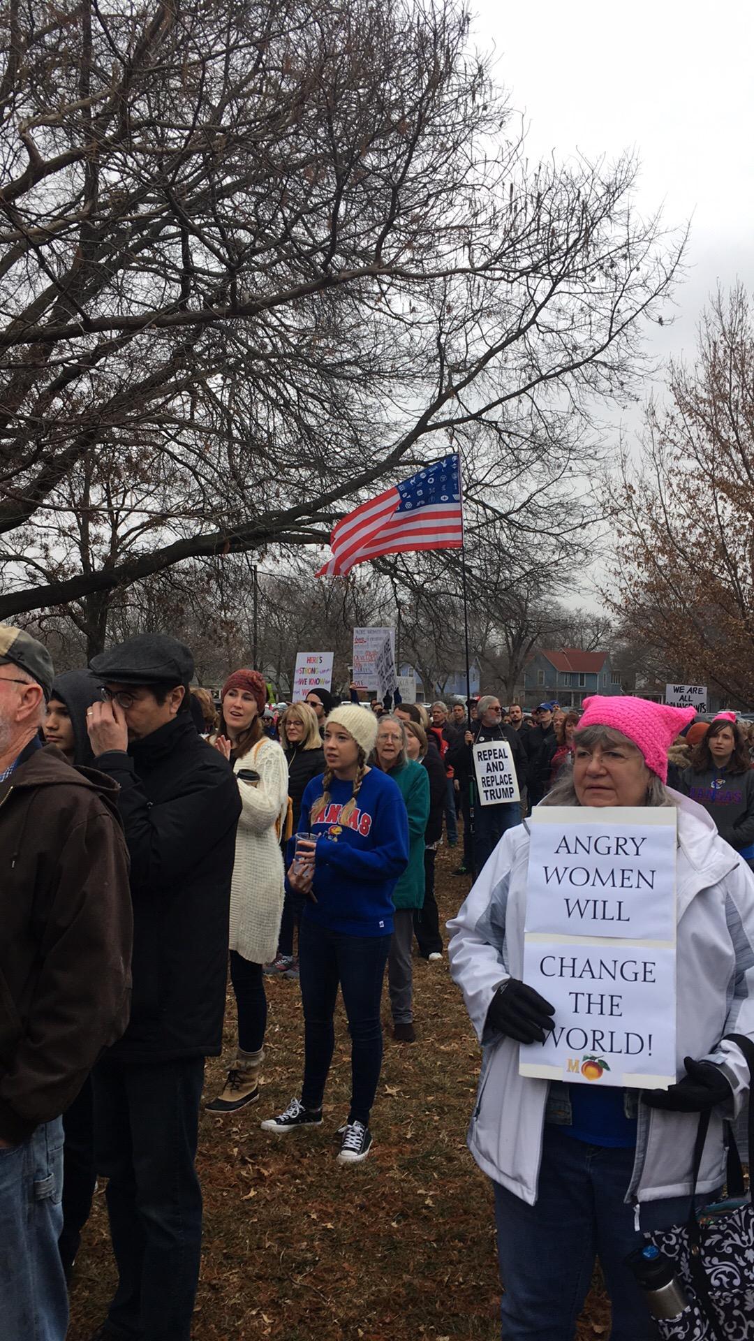 Women's March LFK