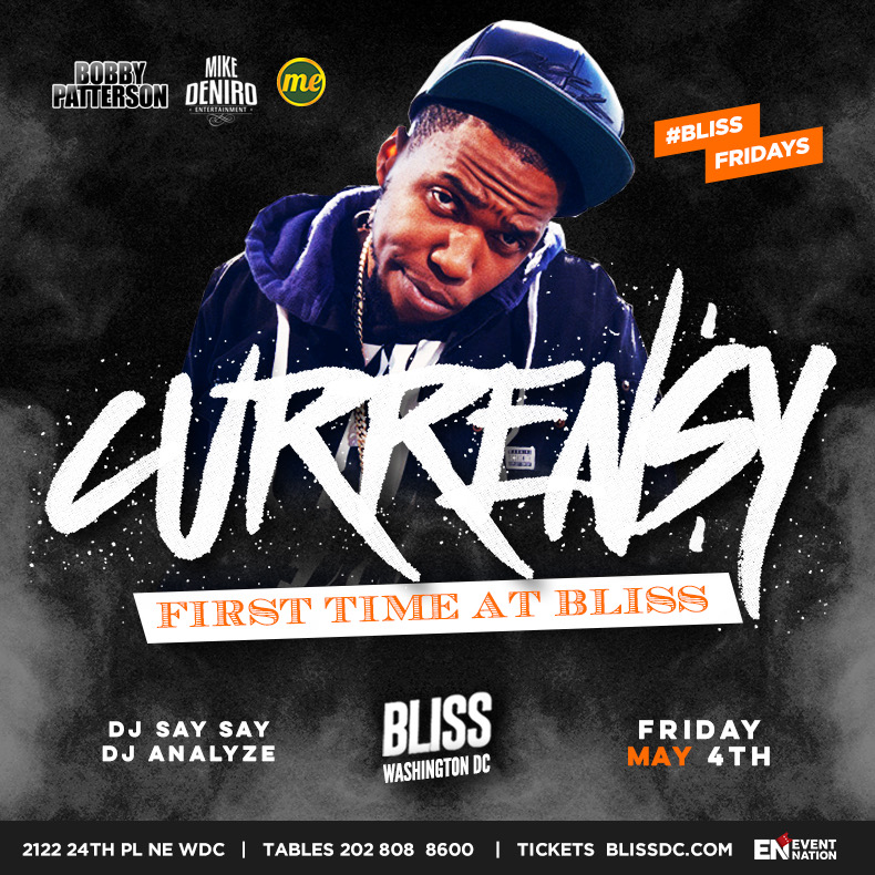 Curren$y & Friends Performing Live at Bliss