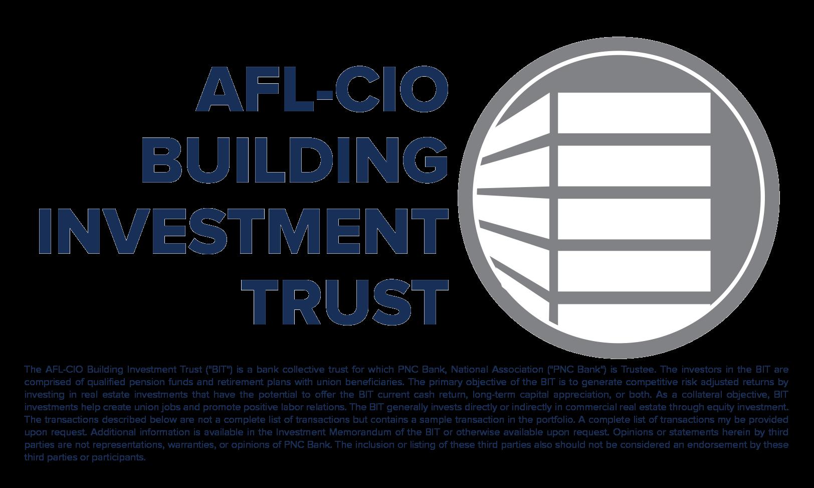 AFL-CIO Building Investment Trust - Development Update: 1Q18