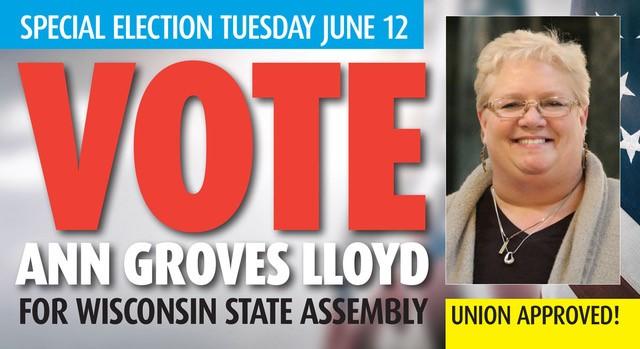 Vote Ann Groves Lloyd