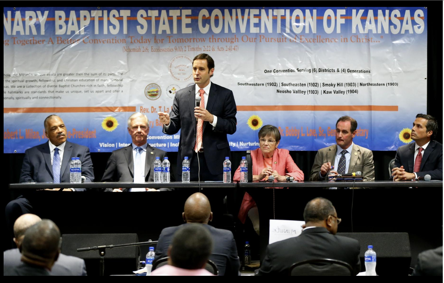 KS Governors at Baptist Convention
