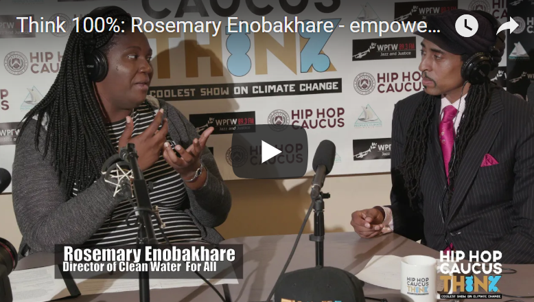 Rosemary Enobakhare - Clean Water For All